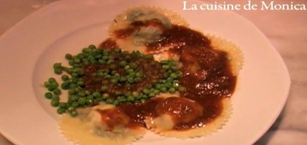 Raviolis de langoustines la cuisine de monica for La cuisine de monica