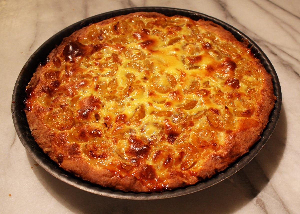 Recette de la tarte aux mirabelles par mamy monica la for La cuisine de monica