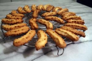 71 - Gâteaux de Noël aux amandes