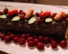 77 - Bûche de Noël au chocolat