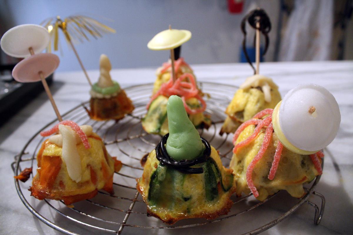 Petits flans aux l gumes recette en vid o la cuisine for La cuisine de monica