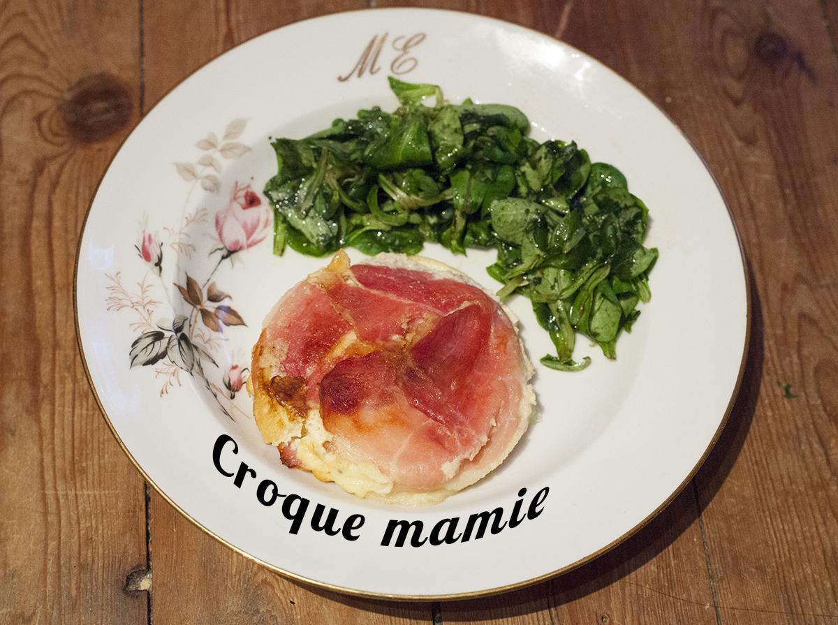 Recette du croque mamie par mamy monica la cuisine de monica for La cuisine de monica