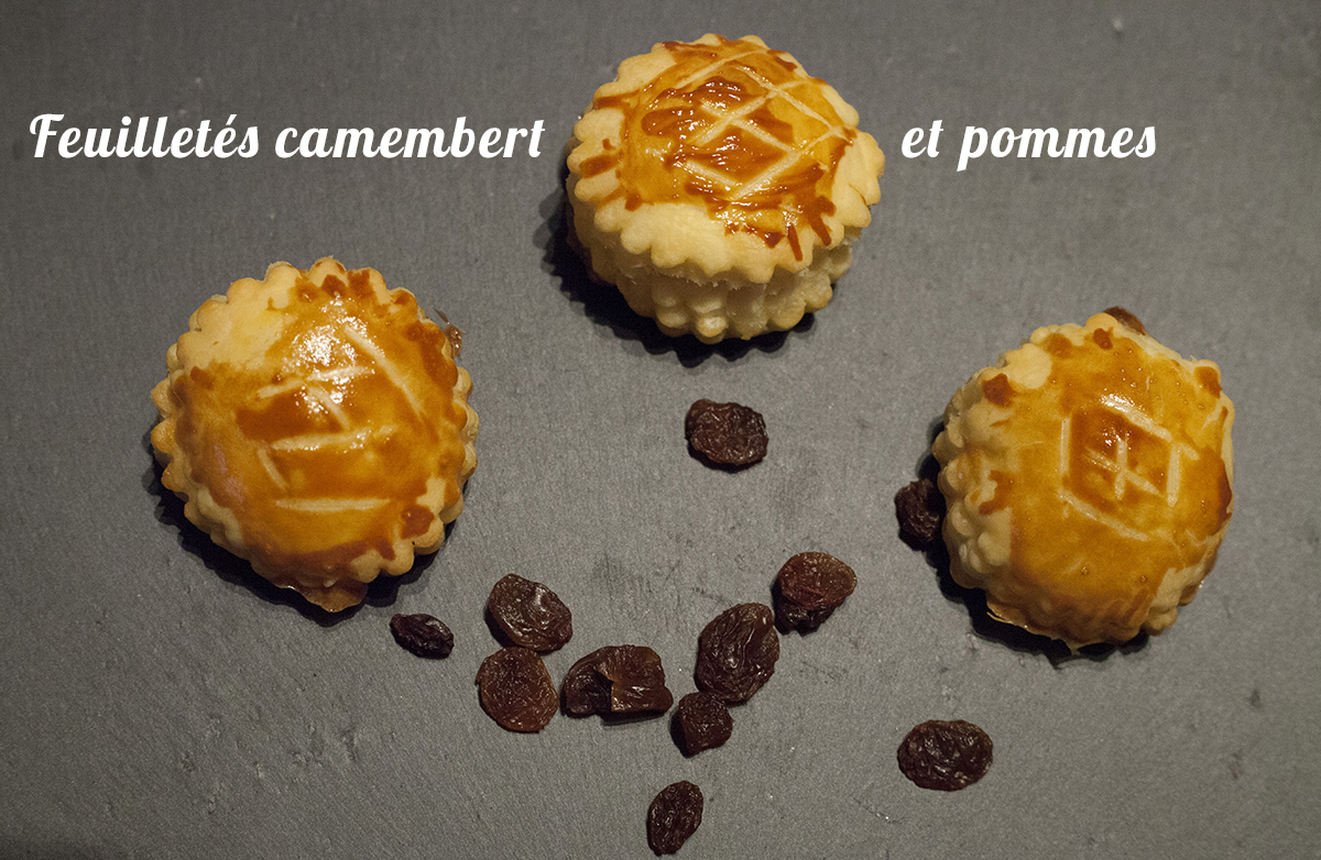 feuillet s camembert et pommes recette en vid o la cuisine de monica. Black Bedroom Furniture Sets. Home Design Ideas