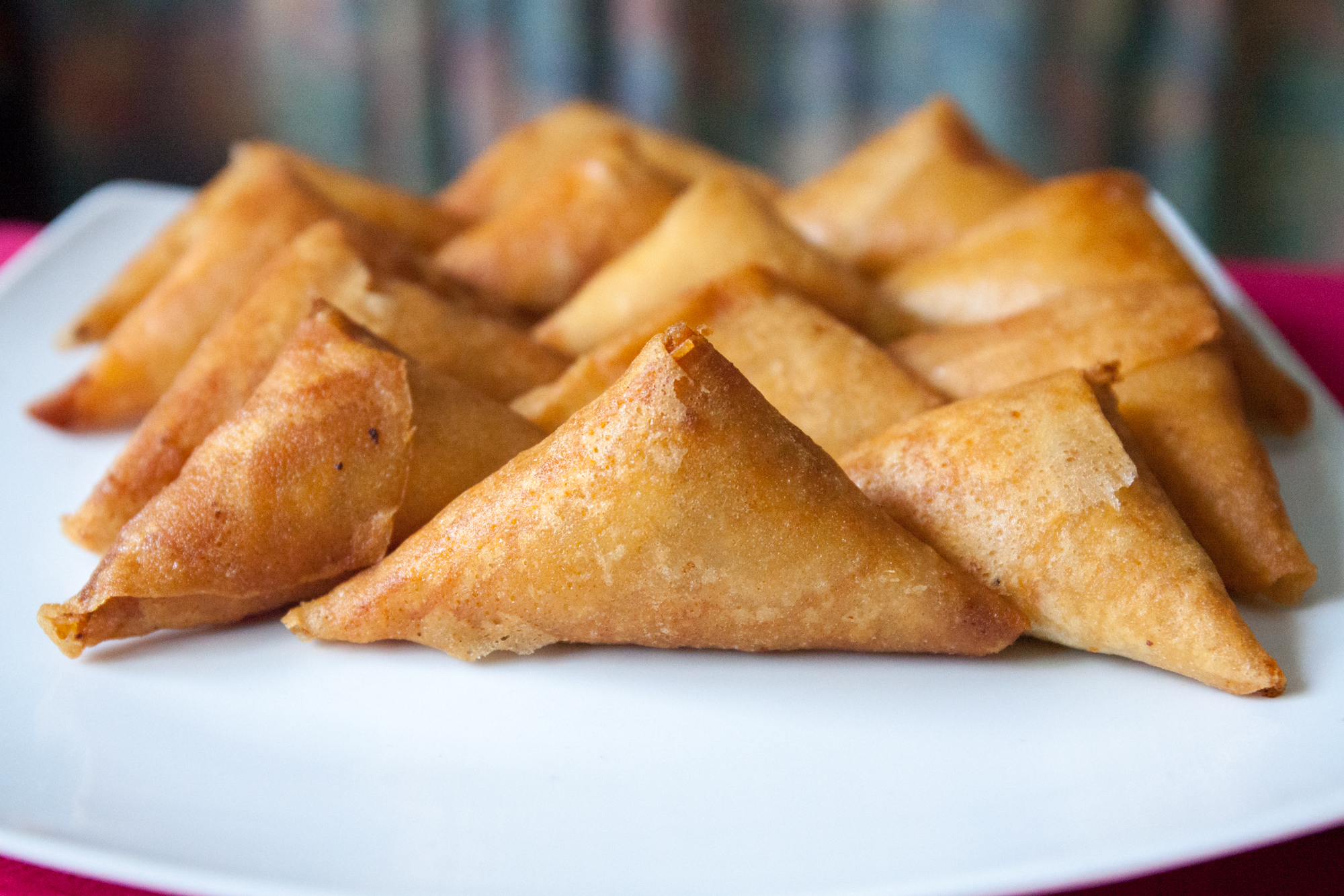 Samoussas porc et crevettes la cuisine de monica for La cuisine de monica