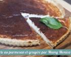 Tarte au parmesan et gruyère recette